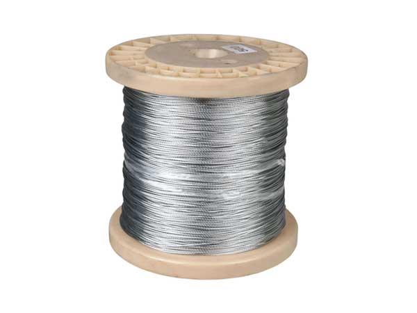 cable haute qualit pour cloture electrique sangliers en acier galvanis. Black Bedroom Furniture Sets. Home Design Ideas