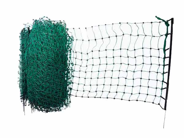 Filet pour clôture électrique vert pour lapins en vente sur cloturelec