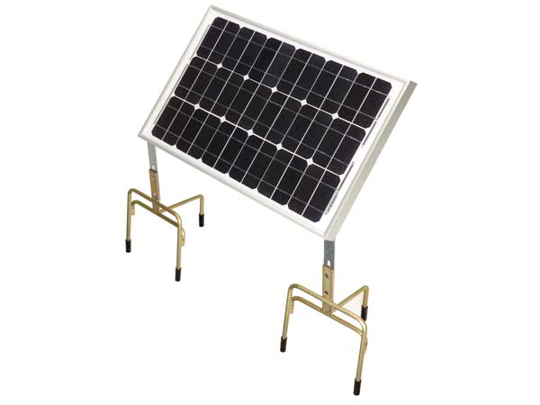 panneau solaire 30 watts pour electrificateurs de cloture sur batterie 12 volts. Black Bedroom Furniture Sets. Home Design Ideas